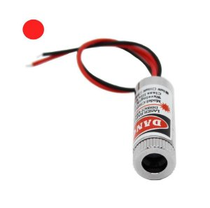 Laser Formato Ponto-Circular - 650nm 5mw 5v
