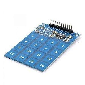 Módulo Teclado Capacitivo TTP229 16 teclas