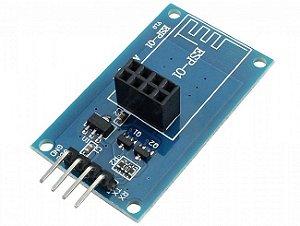 Módulo Adaptador para ESP8266 ESP01 - Azul