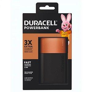 Powerbank Duracell 10050 mAh - 3 Cargas Extra