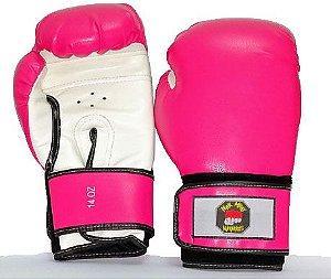 Luvas Boxe/Muay Thai Pink Nakmuaynavarros