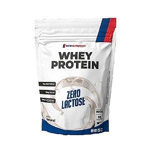 Whey Protein Zero Lactose - 900g - NewNutrition (BAUNILHA)