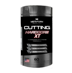 Cutting Hardcore XT - 60 Caps - Metaform Nutrition
