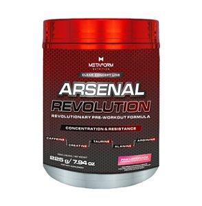 Arsenal Revolution (Pré Treino) - 225g - Pink Lemonade - Metaform Nutrition