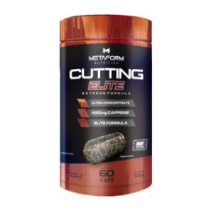 Cutting Elite - 30 ou 60 cápsulas - Metaform Nutrition