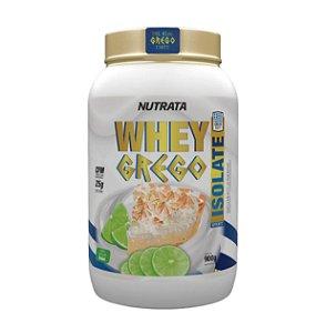 Whey Grego Isolado - 900g - Nutrata