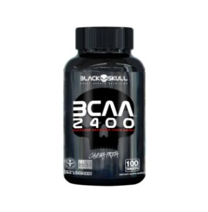 BCAA 2400 - 100 Caps - Black Skull