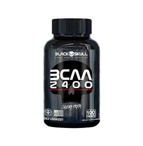 BCAA 2400 - 100 Caps - Black Skull