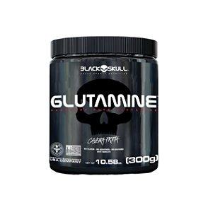Glutamina - 300g - Black Skull