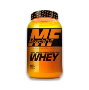 Whey Protein Concentrado - 900g - MuscleFull