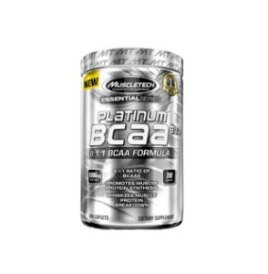 Platinum Bcaa 8:1:1 - 200 cápsulas - MuscleTech