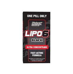Lipo 6 Black Ultra Concentrado (USA) - 120 Cápsulas - NUTREX