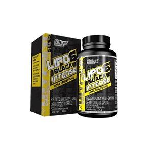 Lipo 6 Black Intenso Ultra Concentrado - 120 Cápsulas - NUTREX
