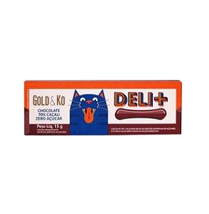 Chocolate 70% Cacau - 15g - Gold & Ko (Zero Adição de Açúcar)