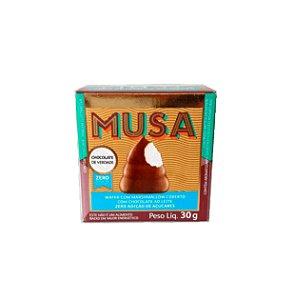 MUSA Wafer com Marshmellow com Chocolate - 30g - GOLD & KO (zero adição de açúcar)