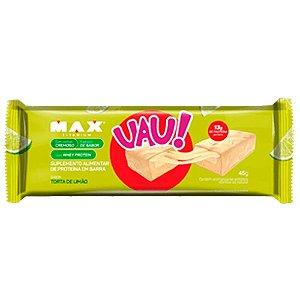 UAU Protein Bar - Unidade 45g - Max Titanium (Torta de Limão)