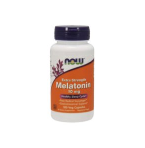 Melatonin - 10mg - 100 veg cáps - Now Foods