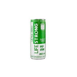 Energético - Sabor Maça Verde - 269ml - Life Strong