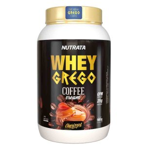 Whey Grego Coffee - 900g - Nutrata