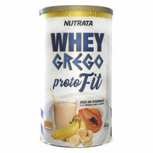 Whey Grego Proto Fit - 450g - NUTRATA