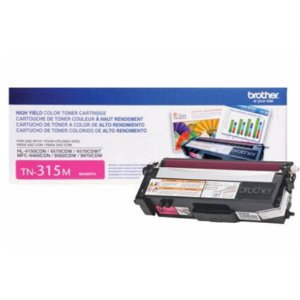 Toner Brother Tn315 Magenta | HL4140 HL4150 HL4570 MFC9970 9460 9560 3.5k