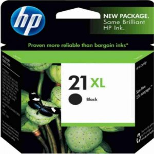Cartucho De Tinta Hp C9351cb Hp 21 Xl Preto 12ml