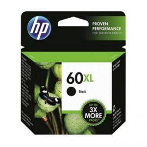 Cartucho De Tinta Hp Cc641wb 60 Xl Preto 12ml