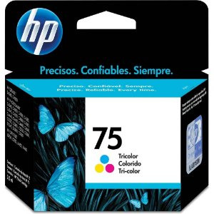 Cartucho De Tinta - Hp 75 - Tricolor - Cb337wb