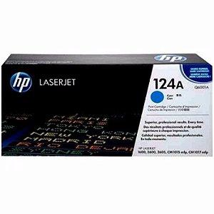 Toner Laserjet Color Q6001a  Hp 124a Ciano Hp