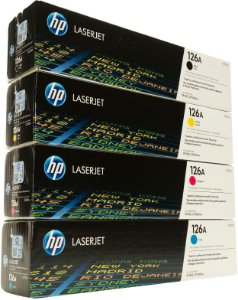 Kit Toner Hp Ce310a/Ce311a/Ce312a/Ce313a  Cp1025 | Cp1025nw | Cp1020 | Cp1020nw | M175a