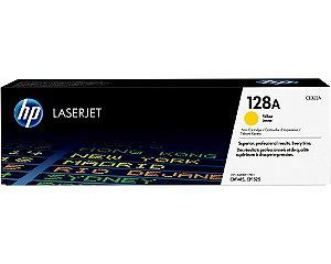 TONER HP CE322A CE322AB 128A | AMARELO | CM1415FN CM1415FNW CP1525NW |  1.3K