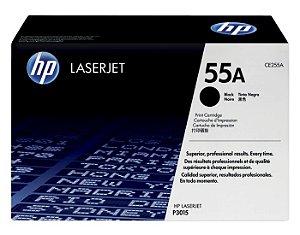 Cartucho de toner LaserJet preto Hp 55A CE255AB