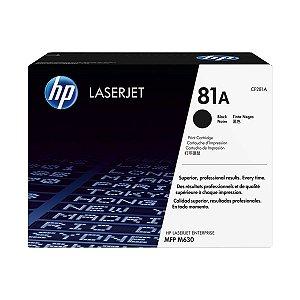 Toner HP CF281A 281A 81A Preto 10.500 páginas