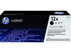 Cartucho De Toner Hp 12a Preto Pacote Duplo Laserjet - Q2612ae