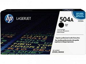 Toner Ce250a Hp 504a Preto Laserjet Cp3525 Cm353