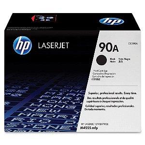 Toner Laserjet Color Hp Suprimentos Ce390ab Hp 90a Preto