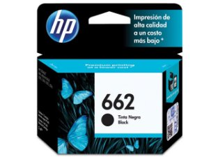 Cartucho De Tinta Ink Advantage Hp 662 Preto