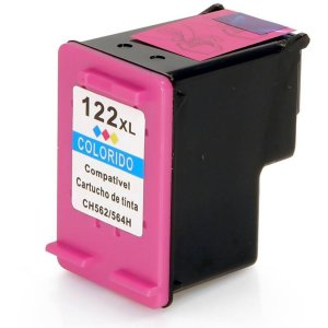 Cartucho De Tinta Hp Colorido Compatível 122xl 1000 1050 2000