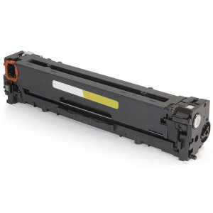 Toner compatível HP CB542A CB542AB 125A Amarelo | CP1215 CM1312 CP1510 CP1515