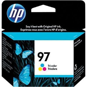 Cartucho HP 97 Colorido Original (C9363WL) Para HP Officejet H470wbt,