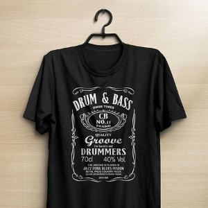 Camiseta Drum & Bass