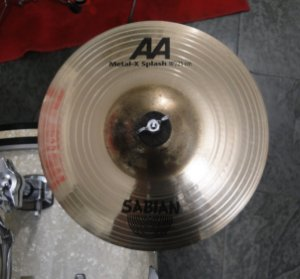 "Prato Sabian AA Metal-X Splash 10"""