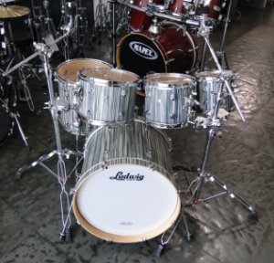 Bateria Ludwig Signet Fusion Alpine Blue Shell Pack