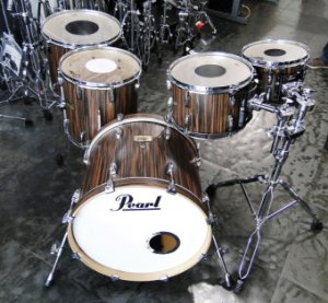 Bateria Pearl Session Studio Classic Shell Pack