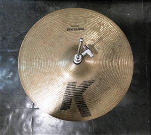 """Hi-Hat Zildjian K/Z 14"""" Anos 90"""
