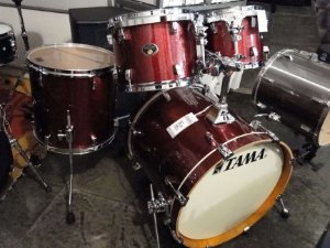 BATERIA TAMA SILVERSTAR VINTAGE BURGUNDY SPARKLE ALL BIRCH SHELL PACK