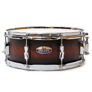 "CAIXA PEARL DECADE MAPLE 14X5,5"" SATIN BROWN BURST"