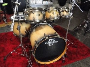 Bateria Ludwig Epic Maple/Birch Natural Burst SHELL PACK
