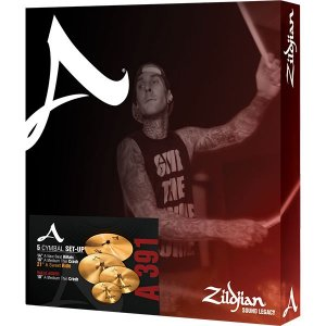 KIT DE PRATOS ZILDJIAN A SERIES - A0391