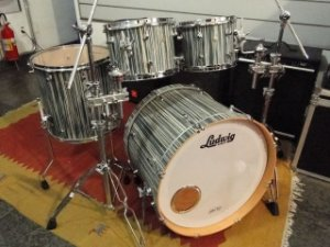 Bateria Ludwig Signet Alpine Blue (SHELL PACK)